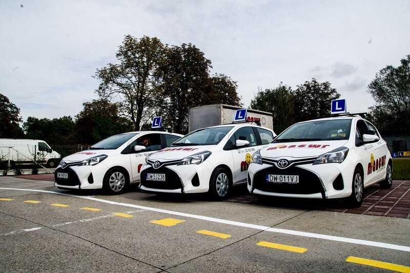 Podstawienie Toyoty na egzamin w WORD w cenie kursu !!!