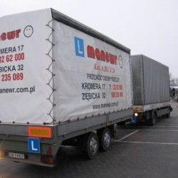ciężarówka z przyczepą, Wrocław