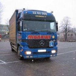 mercedes ciężarowy, nauka jazdy