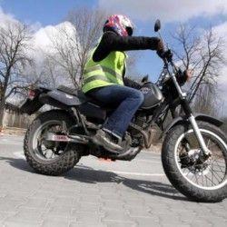 kursant na motocyklu, Wrocław