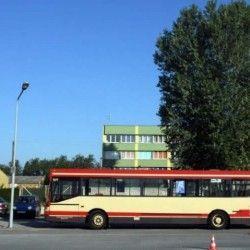 autobus, nauka jazdy manewr