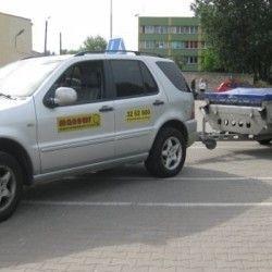 szkoła jazdy z przyczepą