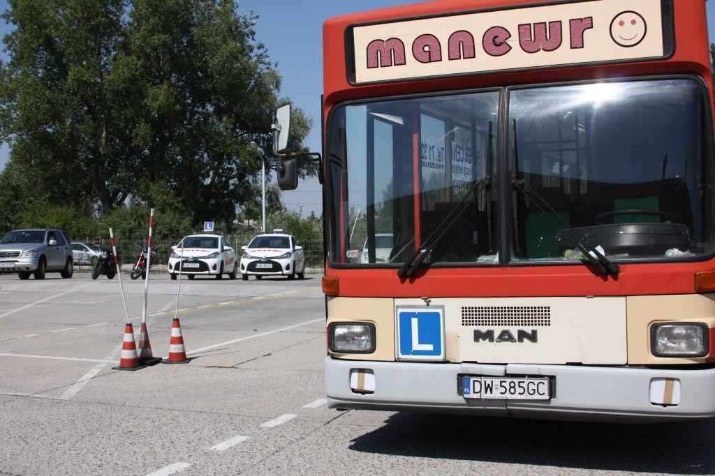 Prawo jazdy na autobus we Wrocławiu ? kategoria D