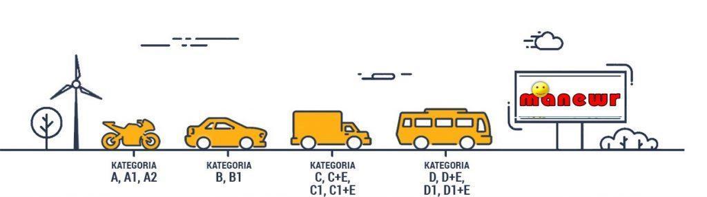 szkoła jazdy manewr