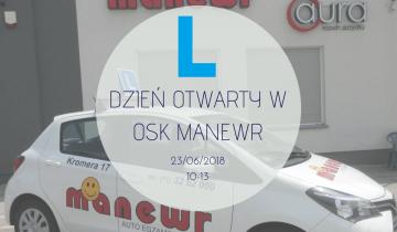 Dzień otwarty w OSK MANEWR!