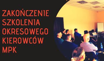 Zakończenie szkolenia okresowego kierowców MPK we Wrocławiu!